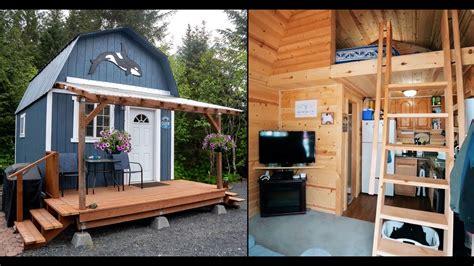 alaskan  shed tiny house living  style   budget