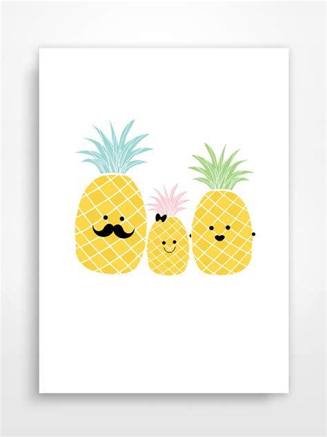 Affiche Decorative by Affiche D 233 Corative Ananas Pineapple D 233 Coration Pour