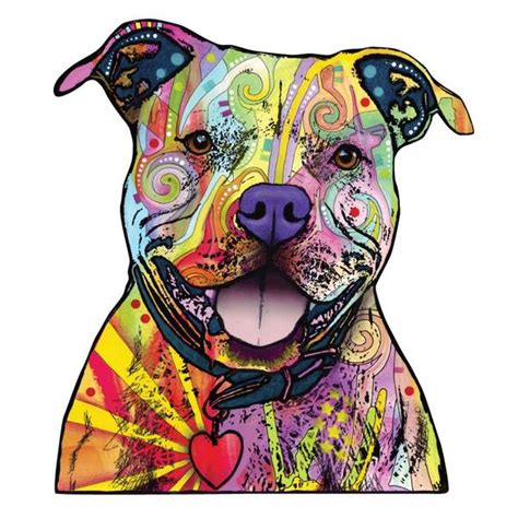 Pop Art Wall Stickers beware of pit bulls wall sticker cut out animal pop art