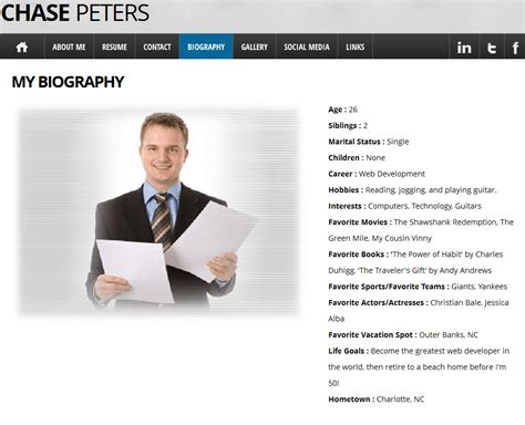 Personal Resume Website Exle by The Gallery For Gt Background Png Images For Websites