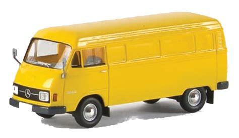mercedes amarillo mercedes l 206 d cerrado amarillo 1 87 brekina