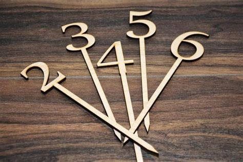 wooden table numbers 1 25 wedding table number wooden table numbers rustic wedding