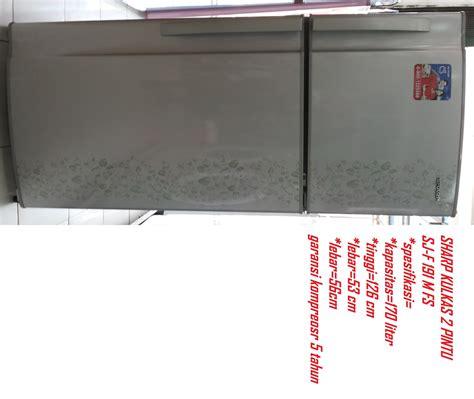 Kulkas 2 Pintu Di harga sharp kulkas 2 pintu seri sj 235 md di kab bogor