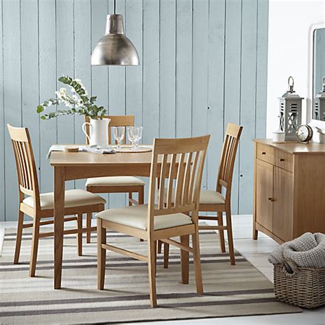 alba furniture lewis buy lewis alba 4 6 seater extending dining table