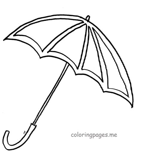 coloring pages for umbrella umbrella coloring page free large images