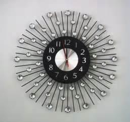 Designer Wall Clock by Designer Sun Wall Clock Plushemisphere