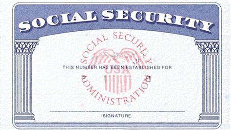 ssi card templates 5 best images of social security cards printable