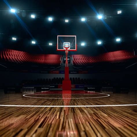 background photo vinyl 10x10 studio prop backdrop basketball court indoor ebay