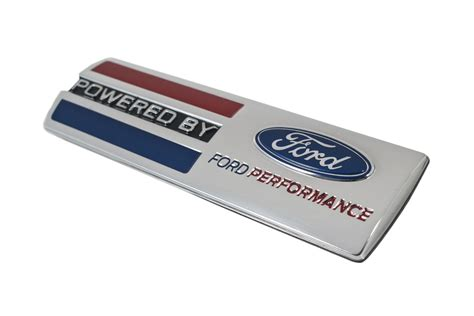 powered by ford emblem mustang quot powered by ford performance quot fender badge chrome