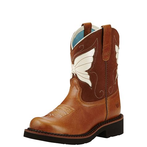 children s cowboy boots pungo ridge ariat fatbaby wings kid s boots