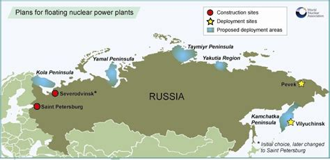 energy news oil gas nuclear power news wall street assembly of russian floating plant starts