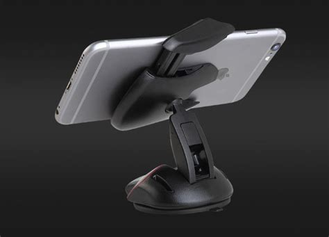 Car Holder Transformer Phone Seperti Mouse Murah car holder smartphone transformer mouse black