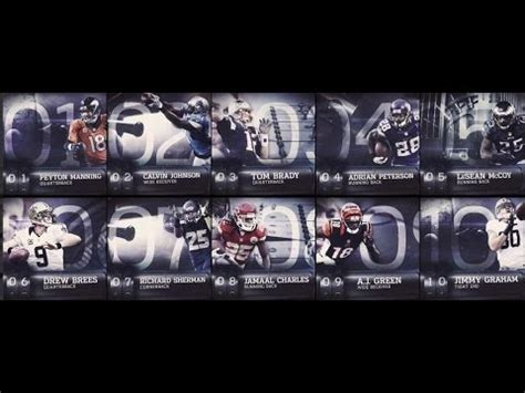 players 100 reviews nfl s top 100 players of 2014 top 10 review peyton