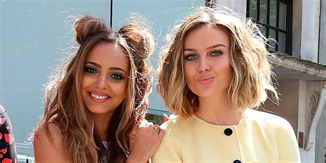 how to blend a lads a hair perrie edwards shows off bodacious new short haircut as