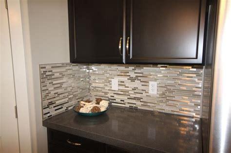 Glass Loft   Titanium Clay Mix Mosaic aceent tile for the