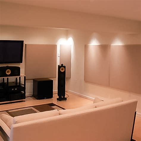 high  listening room acoustical solutions