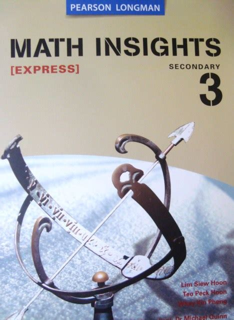 Math Insights S2b S E Tb Secondary Books Amazingly Cheap Second