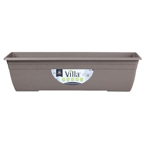 Bunnings Planter Boxes by Northcote Pottery 600mm Taupe Villa Plastic Window Box