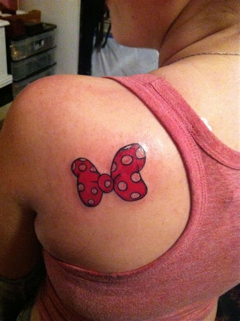 minnie mouse bow tattoo minnie mouse bow tattoos