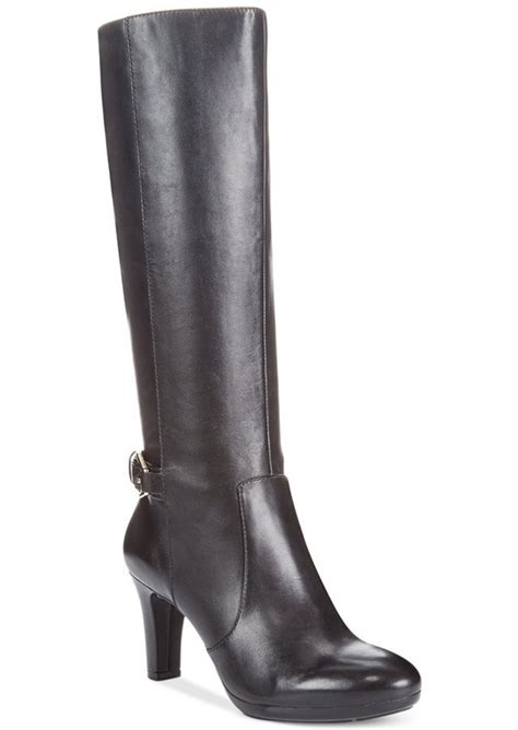 wide dress boots for klein klein strahan wide calf dress boots