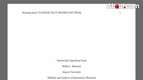 Article Title In Essay Apa by Apa Annotated Bibliography Cover Page