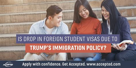Foreigners Us Visa Mba Students by Is Drop In Foreign Student Visas Due To Immigration Policy