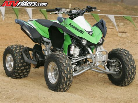 Atv Kawasaki Kfx450r Race 2008 kawasaki kfx450r sport race atv press intro
