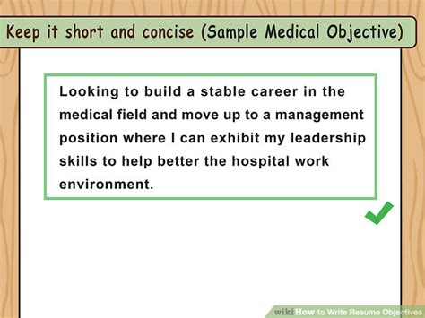 How To Write Objective For Resume by How To Write Resume Objectives With Exles Wikihow