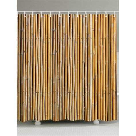 bamboo print shower curtain bamboo print extra long shower curtain in earthy
