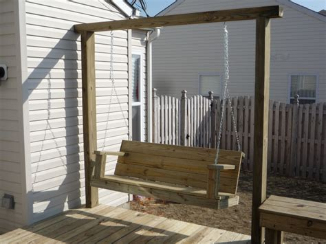 84 best images about swings on pinterest arbors diy bench with built in arbor 4x6 frame swing bench and