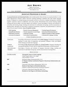 new assistant principal resume sle document