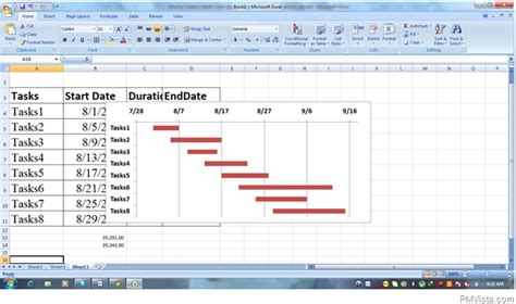 how to make gantt chart in microsoft excel 2013 step by 7 best images of using microsoft project gantt chart