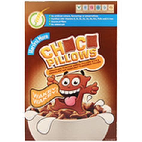 Chocolate Pillows Cereal by Calories In Aldi Harvest Morn Choco Pillows Cereal 500g