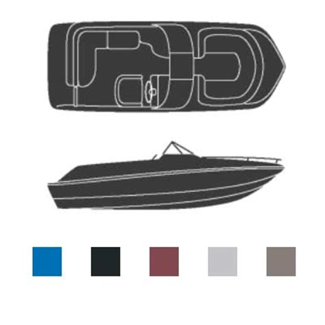 west marine boat covers attwood polyester deck boat covers with walk through
