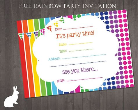 birthday invites free birthday party invitation templates