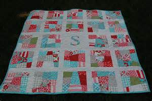 pdf scrappy initial quilt pattern baby quilt by dahliainbloom