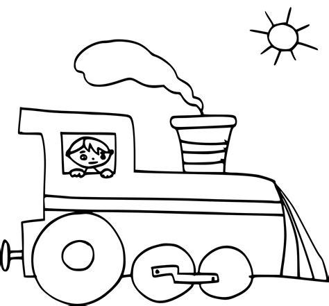 coloriage train enfant dessin 224 imprimer sur coloriages info