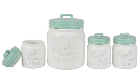 colorful kitchen canisters sets farmhouse kitchen canister sets and farmhouse decor ideas
