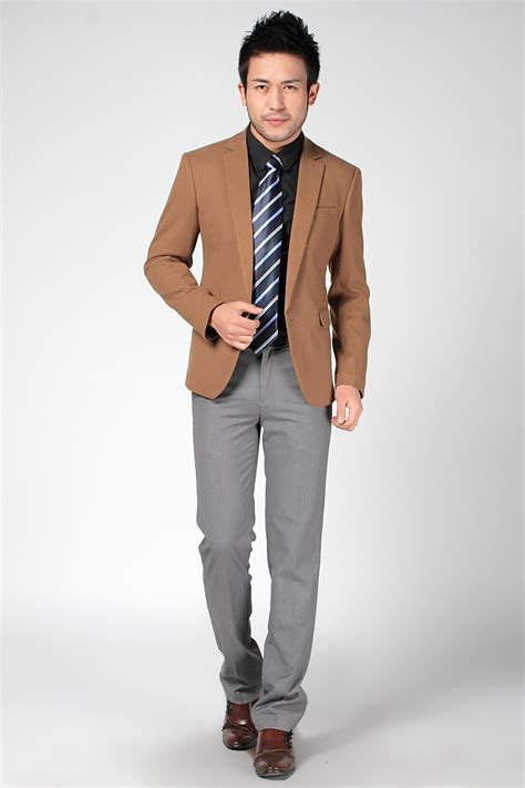 blazer pria formal casual slim fit high quality s formal jacket fashion suit casual slim