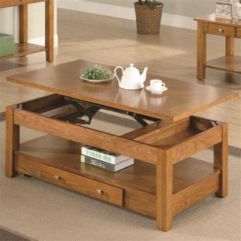 Table Relevable En Bois