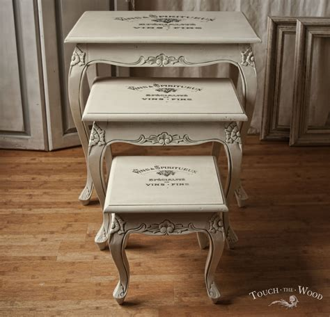 Chic Couches by Shabby Chic Furniture Print Transfer Nest Of Tables No
