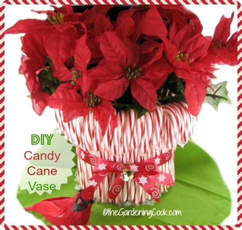 how to do a christmas candy sunday centerpiece diy vase decor the gardening cook