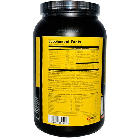 1 supplement for growth universal nutrition lava pwo growth supplement