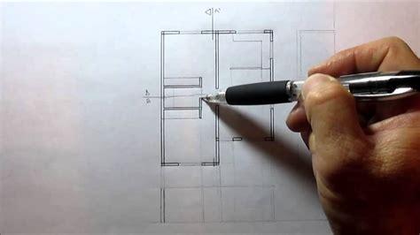 como hacer un plano c 211 mo hacer un corte de un plano arquitect 211 nico