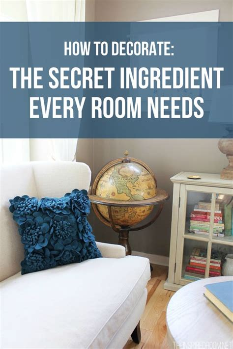 how to decorate texture and the secret on - What Every Room Needs