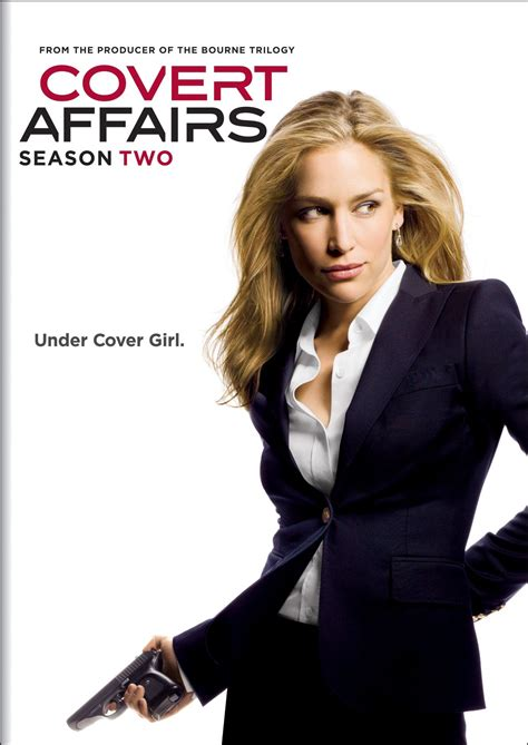 Covert Affairs covert affairs dvd release date