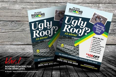 31 Construction Flyer Templates Free Premium Download Roofing Flyer Templates