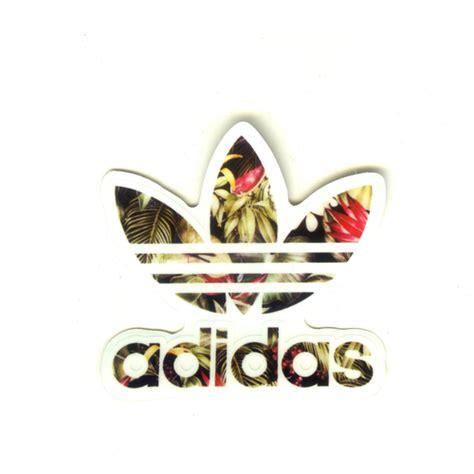 Decal Logo Adidas 1 Set 1551 adidas originals logo flower width 6 cm decal