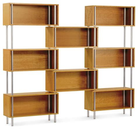 dot chicago 8 box cherry contemporary bookcases