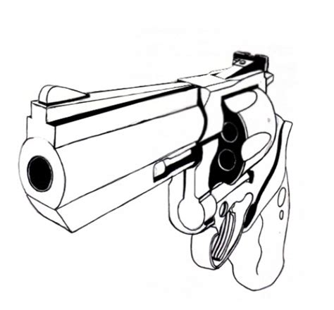 how to draw doodle guns how to draw a gun tutorial feltmagnet